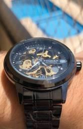Relógio Winner masculino automático novo