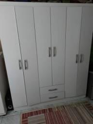 Guarda-roupa 6 portas casal
