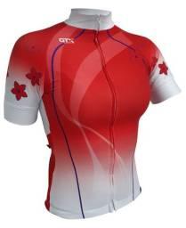 Camiseta De Ciclismo Gtx Flores Mtb