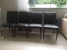 4 cadeiras para mesa de jantar