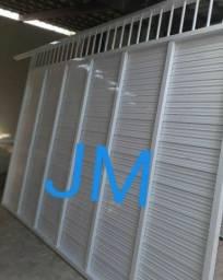 Portão, vidros,pergolado ,cobertas tudo que vc precisar a JM faz!!!