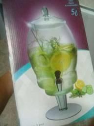 suqueira de vidro 5 litros
