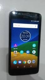 Smartphone MOTO G5 (semi novo) barbada