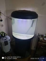 Aquario Boyu meia lua com canister 1000l/h
