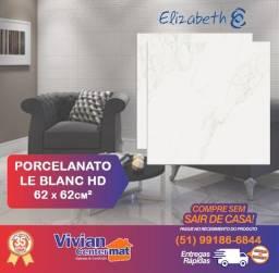 Porcelanato Polido Le Blanc HD - 62 x 62cm²