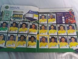 Álbum da  Copa do mundo de 2018 completo