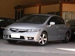 Honda Civic 1.8 lxs prata 16v flex 4p manual 2009