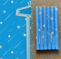 Título do anúncio: Boa tarde Promoção de papel parede autocolante novo