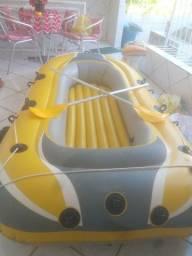Vendo bote inflável para até 3 pessoas