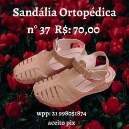 Sandália ortopédica n° 37
