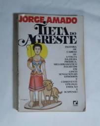 Tieta do Agreste - livro de Jorge Amado - 14ª ed. (1987)