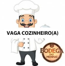 VAGA PARA CONZINHEIRO(A)