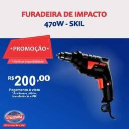 Furadeira De Impacto Skil 6600 3/8 570w ? Entrega grátis