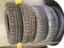 Jogo pneus radiais Pirelli P4 155/80/13 0km