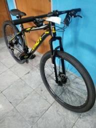 Bicicleta Athor 29 Preta/ Amarela