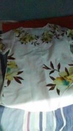 Blusa florida gg