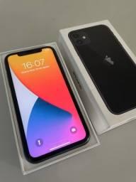 Título do anúncio: iPhone 11 128gb preto com caixa e todos acessórios  originais