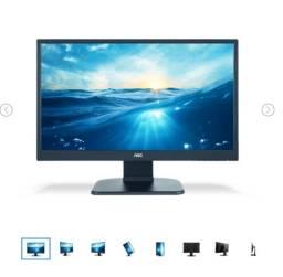 """Monitor LED 23,6 """" AOC Full HD 75HTZ M2470PWH"""