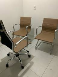 Kit Cadeiras presidente e aproximacao