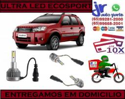 Lampada Ultra LED (Baixa) Ford Eco Sport 6000K 12V 24V