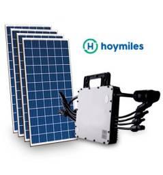 Título do anúncio: Kit Gerador Solar R$200,/mês Economia luz 4 Placas 450W- 1 Micro Inversor.