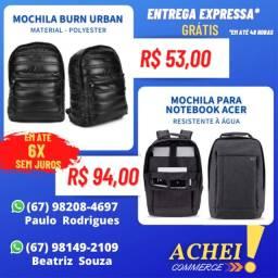 Mochilas para Notebook _ Diversas Marcas _ Novo _ NF