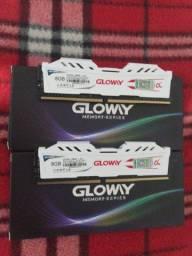 Memória DDR4 Gloway 2666 nova