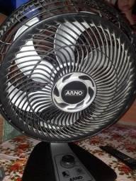 Ventilador Arno com defeito