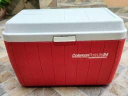 Caixa Termica Vermelha Coleman PolyLite 54 litros
