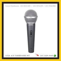 Microfone Profissional Lelong Le-903 Com Cabo