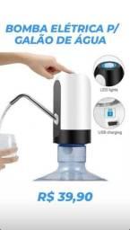 Bomba de água Elétrica Para Galão Garrafão de água