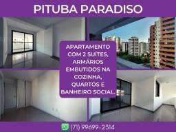 Pituba Paradiso, 2 quartos em 84m² - Surreal