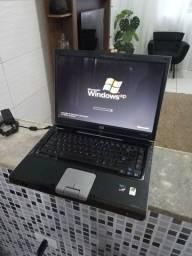 Notebook Hp dual core - bateria viciada