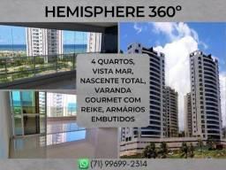 4 quartos, apartamento com 165m² em Pituaçu - Formoso