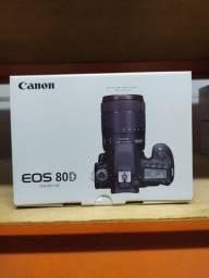 Câmera Canon EOS 80D Dslr Body