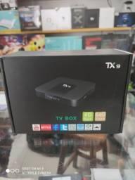 Tv box tx9 novas originais com garantia de 3 meses