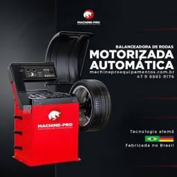 Título do anúncio: Balanceadora Motorizada Automática com Capô de Proteção