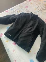 Jaqueta feminina de motociclista ixon