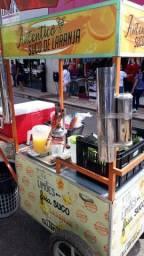 Carrinho de lanche ( suco de laranja)