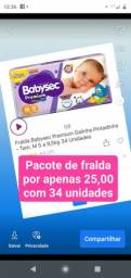Fralda babysec Premium