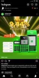 Máquinas de cartão melhor taxa do mercado