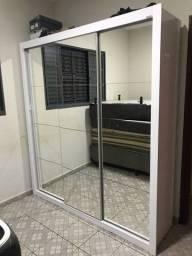 Título do anúncio: Guarda roupa SEMI NOVO  3 Portas com espelhos