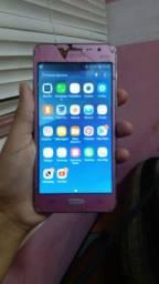 Vendo celular J2 prime rosa!