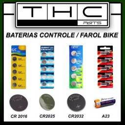 Baterias para alarmes e controles diversos