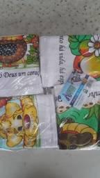 12 unidades de panos de prato por 35,00 reais