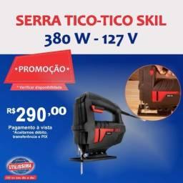 Serra Tico-tico 380 W - Skil 127 V ? Entrega grátis