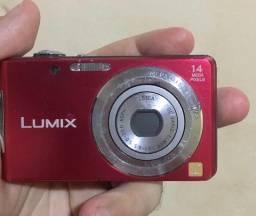 camera Panasonic lumix dmc-fh2 vermelha