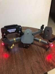 VENDO  DRONE MAVIC PRÓ 4K  GOLD 2 BATERIAS CONTROLE NOTA FISCAL SEMI NOVO