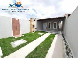 Casa Nova com 2 suítes, financiada pela Caixa Econômica
