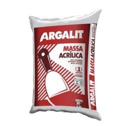 Massa Acrilica Argalit 20kg - (R$ 39,90)